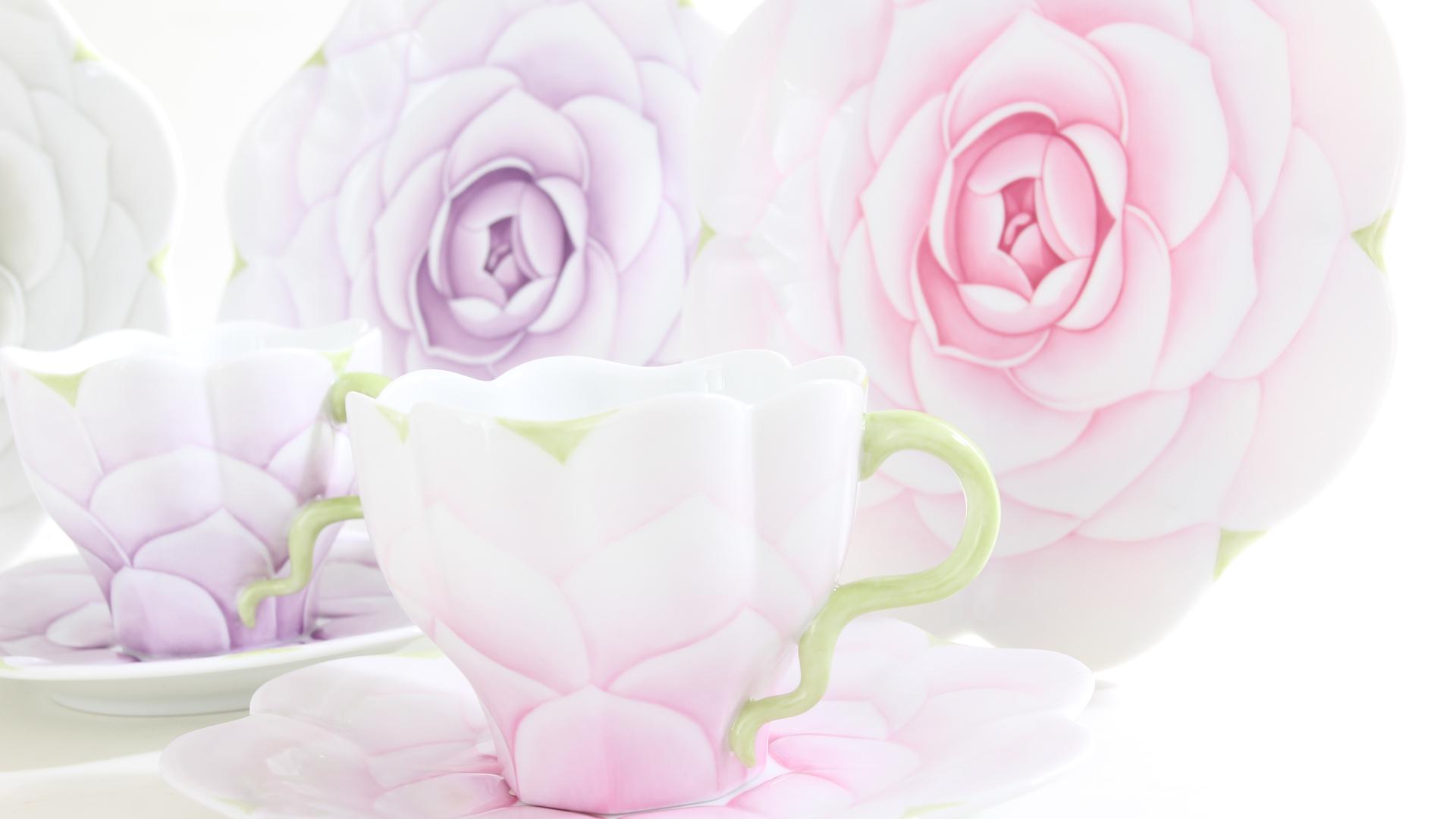 Herend porcelains