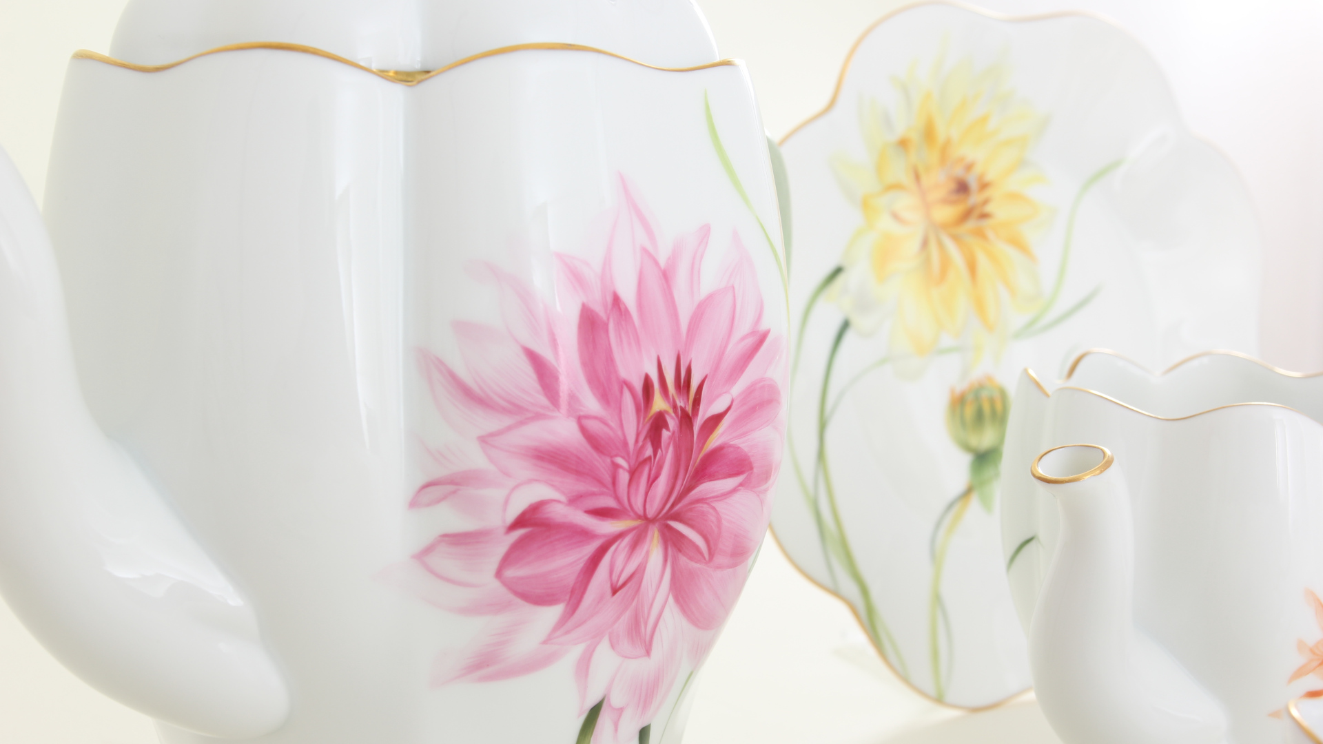 Herend porcelains