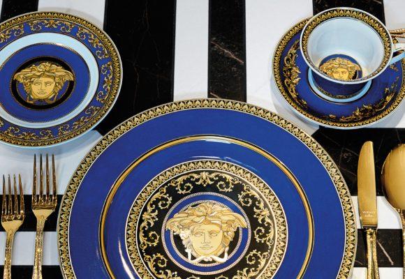 Servizio da tavola serie KARUS MEDUSA di Versace