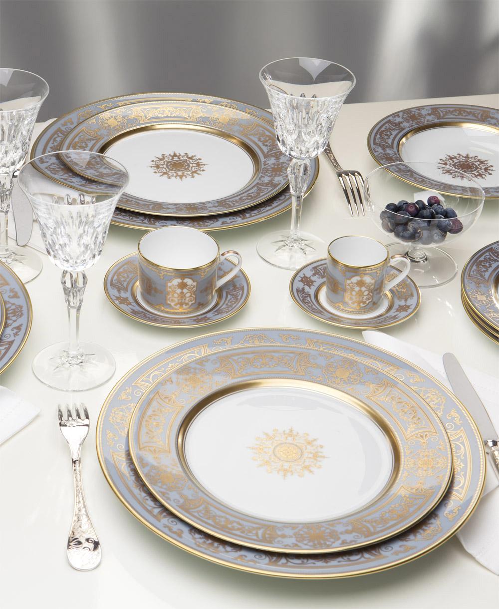 Bernardaud - Aux Rois Flanelle, servizio in porcellana creato nello stile del Re Luigi Filippo