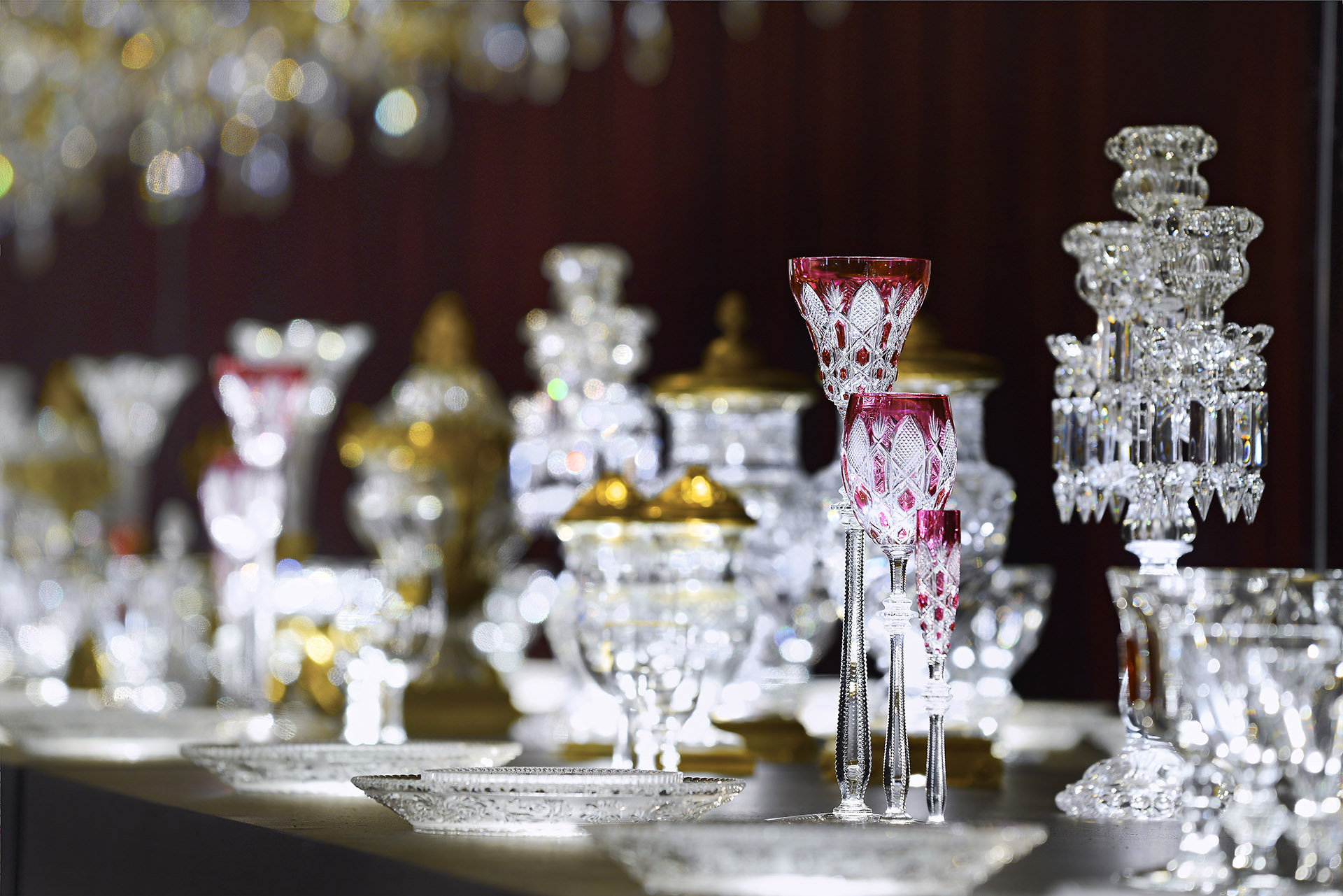 Baccarat - Tsar, a glass created for the Tsar Nicholas II, made with transparent glass with different colors and diamond cut